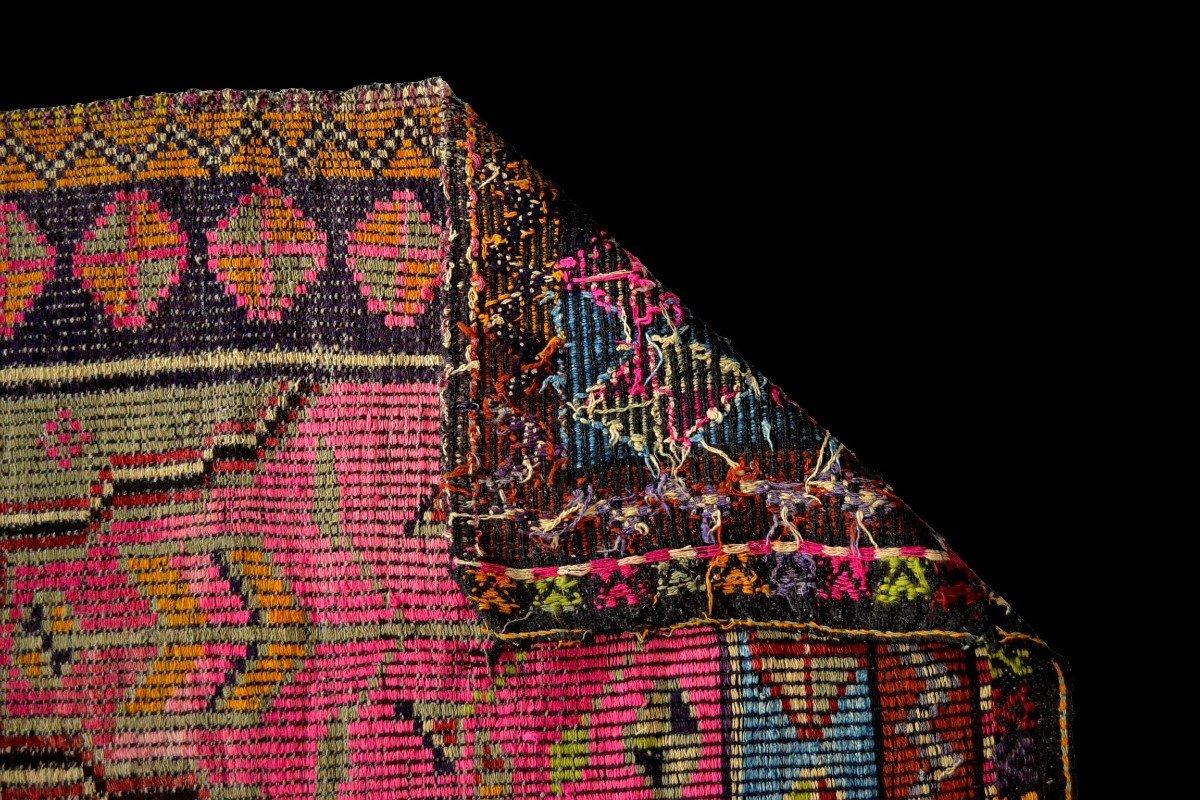 Rare, tapis de prière ancien en crin, 97 cm x 138 cm, Anatolie, Turquie, début XXème, -photo-7