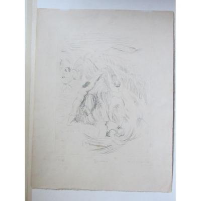 André Dunoyer De Segonzac (1884 - 1974) - Les Fenaisons I - Circa 1925 - 3/25