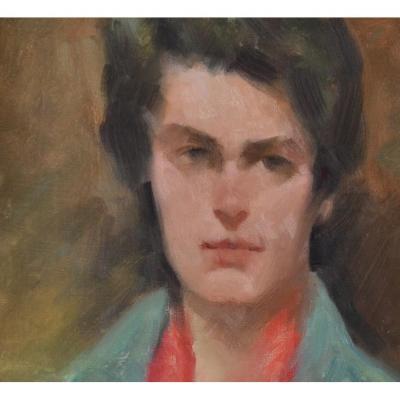 Lusby Dick - Portrait De Femme - Circa 1950