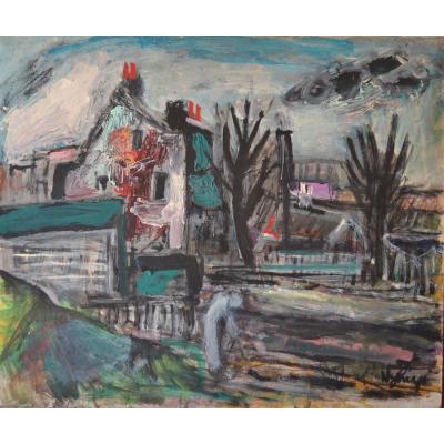 Nyhuys Peter (1912 - 2005) - Sans Titre - Circa 1950