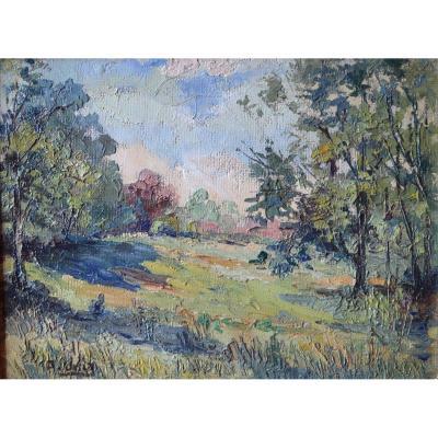 Adelin VERLY (1883 - 1967) - La Campagne ,1935