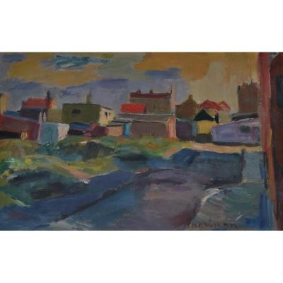 Hans ENGELMAN (1922-2000), Provence, 1955