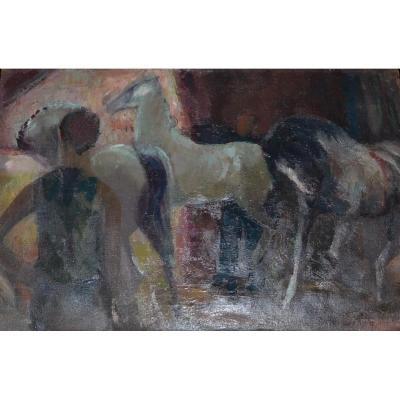 Els HEYTING POSTHUMUS (1918 - 1992) - Le Cirque ,1960