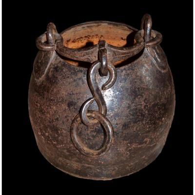 Chaudron de cuisson pour le  Riz,  Asie Centrale, fin du XIXème début XXème