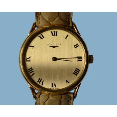 Longines For Men, Gold 18k Mens Watch Circa 1980