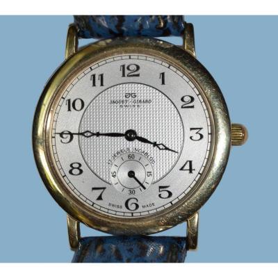 Jaquet-girard Men's Gold Bracelet Watch