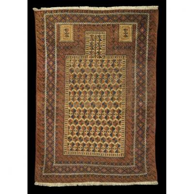 Beloutchistan Old Rug, 98 Cm X 143 Cm, Early 20th Century