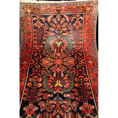 Malayer Persian Rug, Iran, 146 Cm X 224 Cm, Hand Knotted, Before 1950 In Good Condition