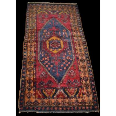 Old Yahyahli Carpet, Anatolia, Turkey, 100 Cm X 193 Cm, XIXth Century