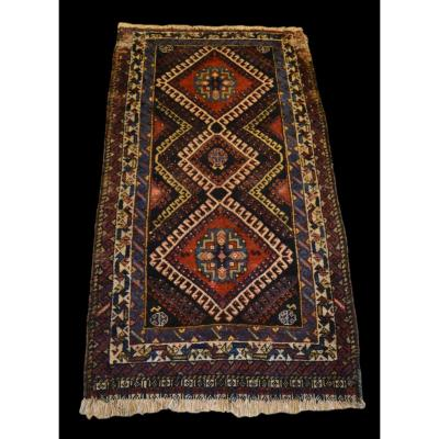 Kazak Carpet, Caucasus, 86 Cm X 167 Cm, XIX See Anterior, In The State