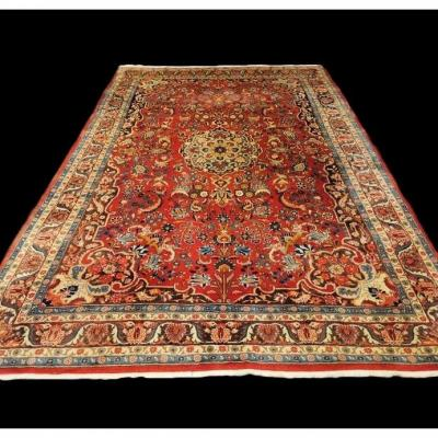 Persian Bidjar Rug, 206 Cm X 308 Cm, Iran, Hand-knotted Wool Circa 1960 In Superb Condition