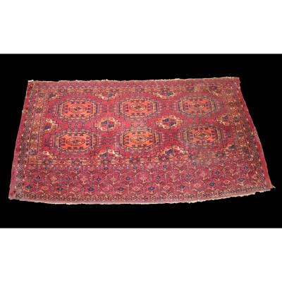 Pendi Chouval Rug, Turkménistan, 75 Cm X 137 Cm, Wool On Wool, Late 19th Century, In Good Condition