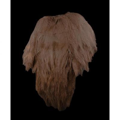 Manteau de pluie en fibre de palmier, Japon ou Chine, Fin du XIXème, début du XXème Siècle