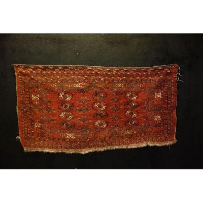 Tekké Chouval Rug, Turkestan, 88 Cm X 167 Cm, Wool On Wool, Late 19th Century, Early 20th Century