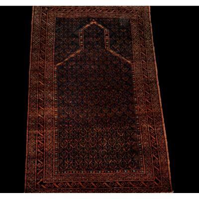 Tapis Baloutche ancien, 92 cm x 143 cm, laine sur laine, Khorassan, Iran, début du XXème siècle