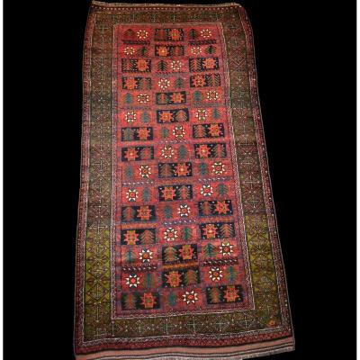 Mauri Rug, 117 Cm X 236 Cm, Afghanistan, Wool On Wool, Circa 1960, Impeccable Condition