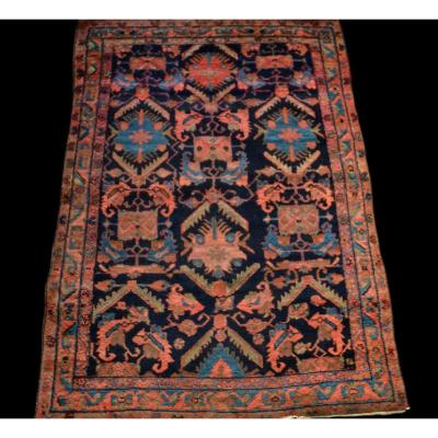 Old Chirvan Carpet, Caucasus, 137 Cm X 190 Cm, Early 20th Century, Hand-knotted Wool