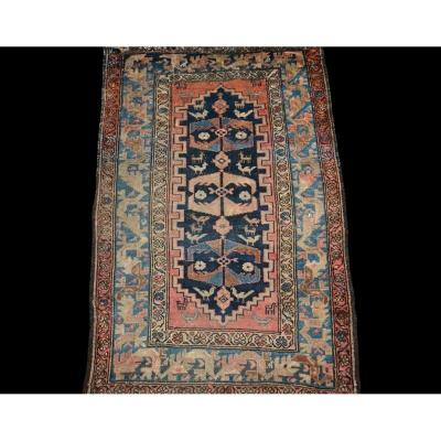 Old Chirvan Carpet, Caucasus, 115 Cm X 176 Cm, Hand-knotted Wool, 19th Century
