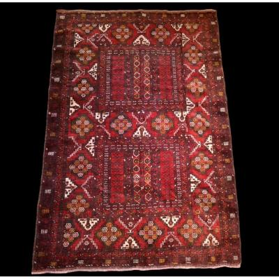 Yomoud Turkmen Rug, 155 Cm X 233 Cm, Hand-knotted Wool, Early 20th Century