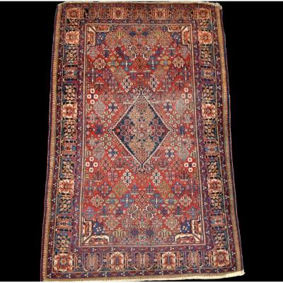 Persian Joshagan Rug, 128 Cm X 202 Cm, Wool, Iran, First Part Of The 20th Century