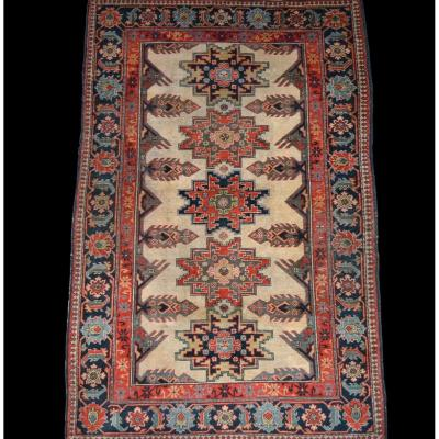Kouba Rug, Dagestan, Caucasus, 120 Cm X 190 Cm, Hand-knotted Wool, Circa 1960, Very Good Condition