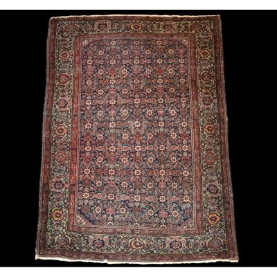 Old Persian Feraghan Rug, 131 Cm X 185 Cm, Iran, 19th Century, Good Condition Collection