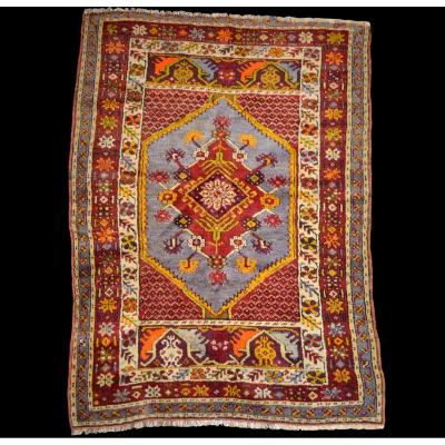 Anatolian Carpet, Turkey, Wool On Wool Circa 1960, Perfect Condition