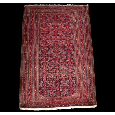 Guerat Béchir Rug, Amou-daria Region, 111 Cm X 170 Cm, Wool, Turkmenistan, Early 20th Century