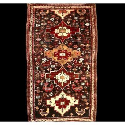 Tapis Chirvan Akstafa, Caucase, 143 cm x 237 cm, laine, fin du XIXème siècle