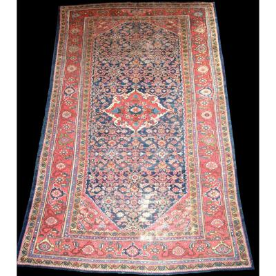 Tapis Persan Mahal ancien, 194 cm x 314 cm, laine nouée main, Iran, début du XXème siècle