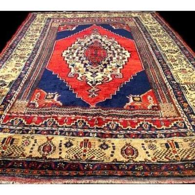 Tapis Yahyali, 150 cm x 225 cm, Anatolie, Turquie, laine sur laine, vers 1970 en parfait état