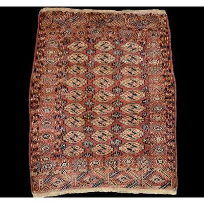 Tapis des Tékké ancien, Turkestan, 138 cm x 186 cm, laine nouée main milieu du XXème Siècle