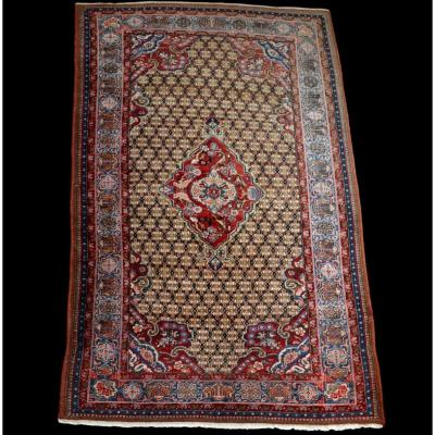 Tapis Persan Kolyach, 152 cm x 235 cm, Iran, laine nouée main, très bon état, vers 1980