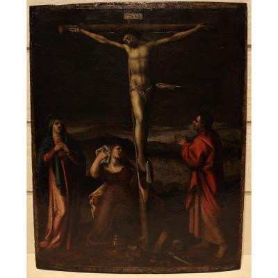 Le Christ En Croix - XVIIe S