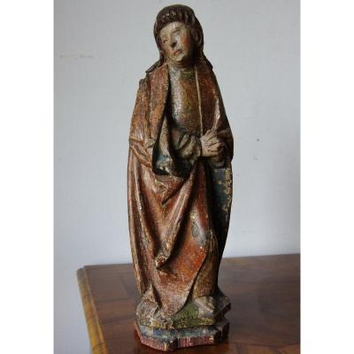 """late Gothic Figure Of Saint John"""