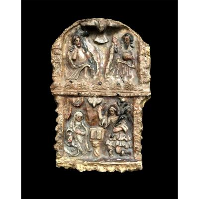 Very Beautiful Portable Altar For Private Devotion, 16th Century