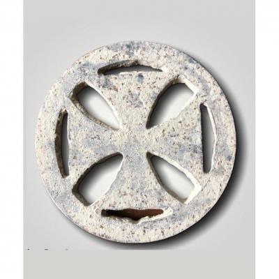 Ornement Croix Templière Médiévale En Fer - 12ème/13ème Siècle
