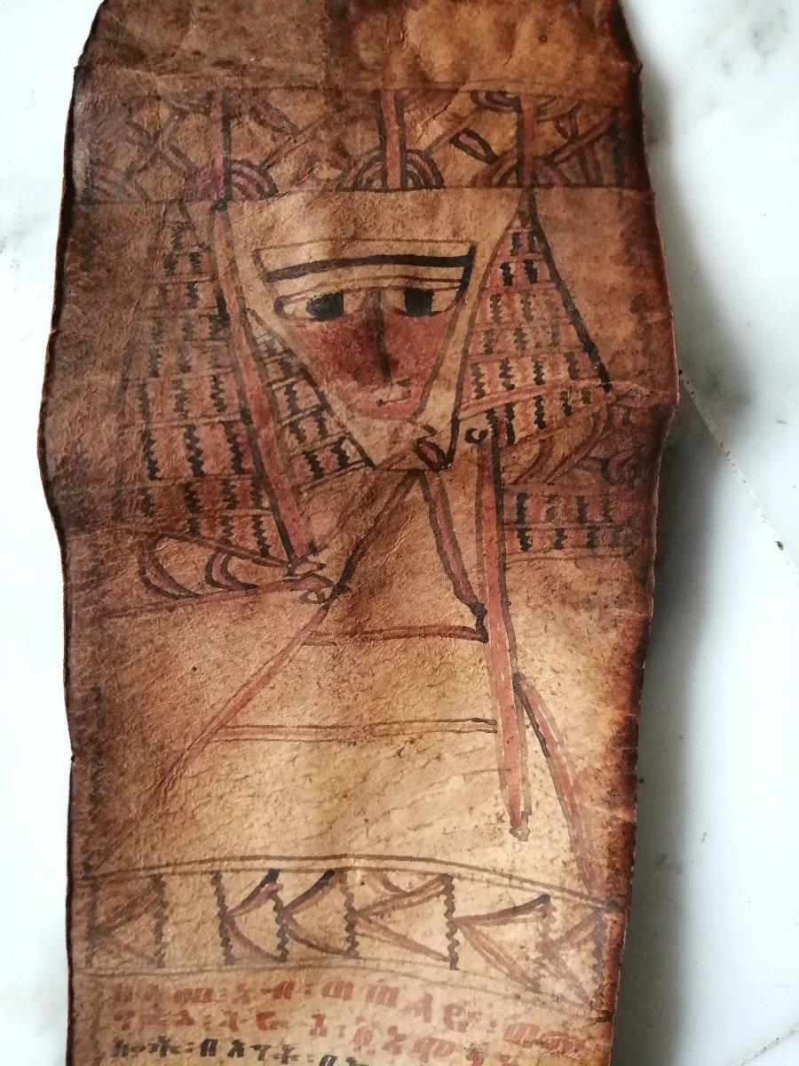 Parchment Prayer Roll Ethiopia Nineteenth