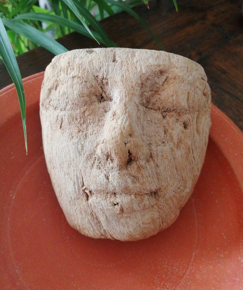 Masque Funéraire Egypte Basse Epoque