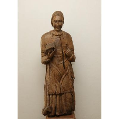 Grande Statue XVIe Siècle Saint-etienne