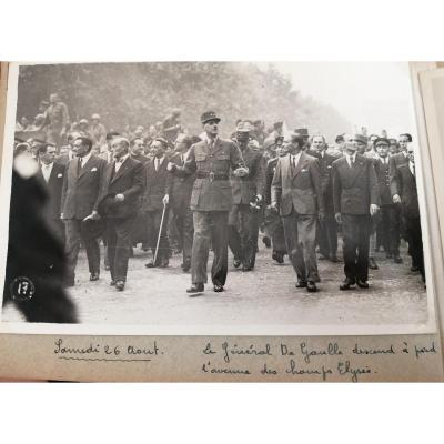 Exceptional Album Of 85 Unpublished Photos Of The Liberation Of Paris 1944 Wwii