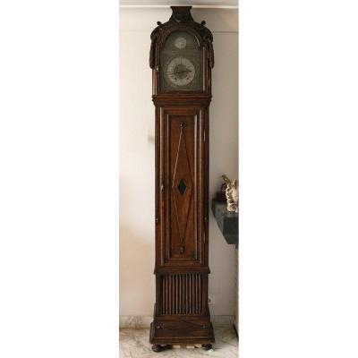 Horloge De Parquet Complète Epoque Louis XVI