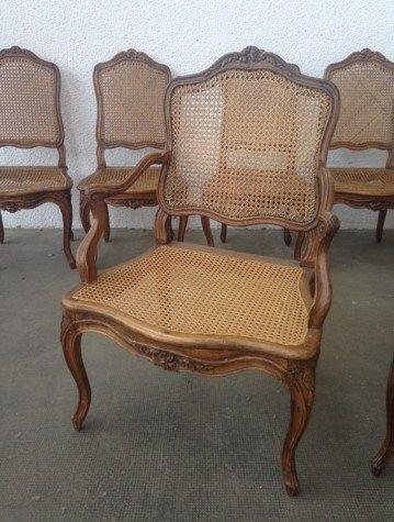 Beautiful Suite Of Louis XV Period Seats