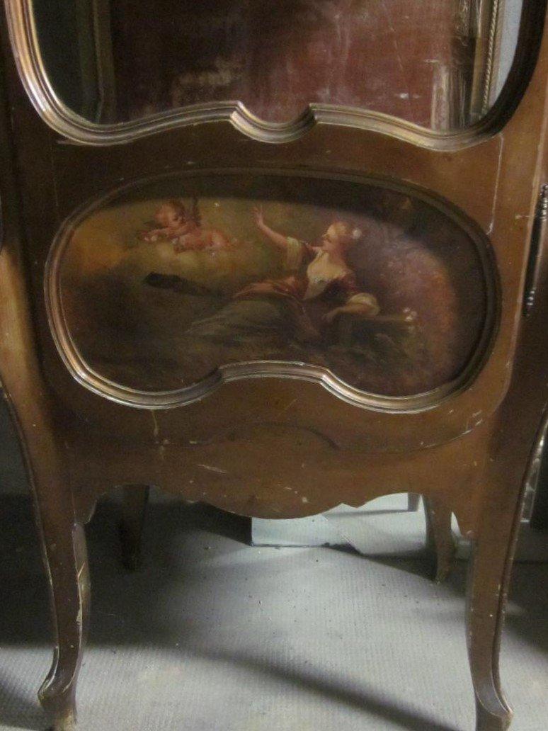 Small Napoleon III Display Case (detail)