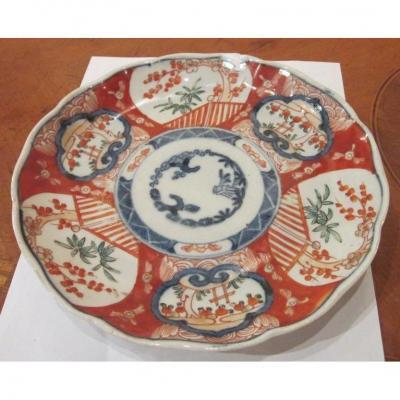 Imari (19th Century) - Porcelain Plate