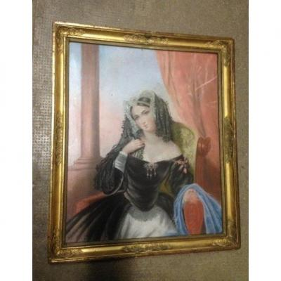 Pastel, XIXe siècle