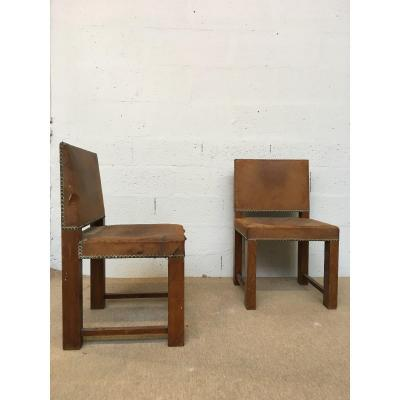 Pair Of 1930's Modernist Chairs