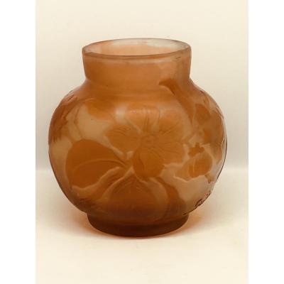 Vase Pate De Verre Pâte De Verre Galle Art Nouveau