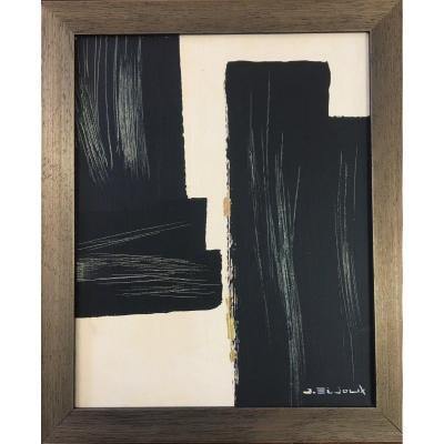 Oil On Canvas By Jean Bijoux