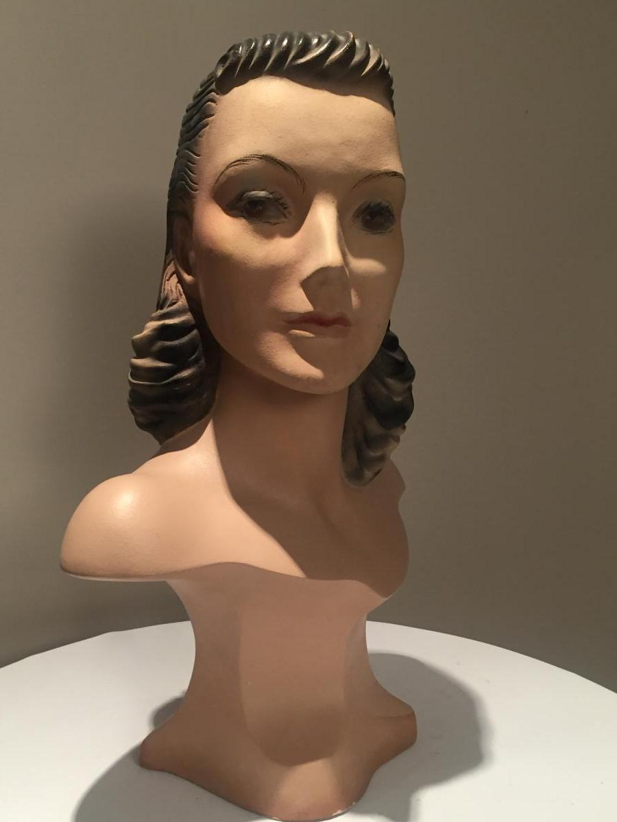 Bust Of Woman For Hatter